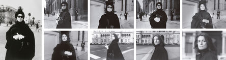 Liliana Maresca, 'Untitled. Liliana Maresca in front of the Government House, Buenos Aires', 1984
