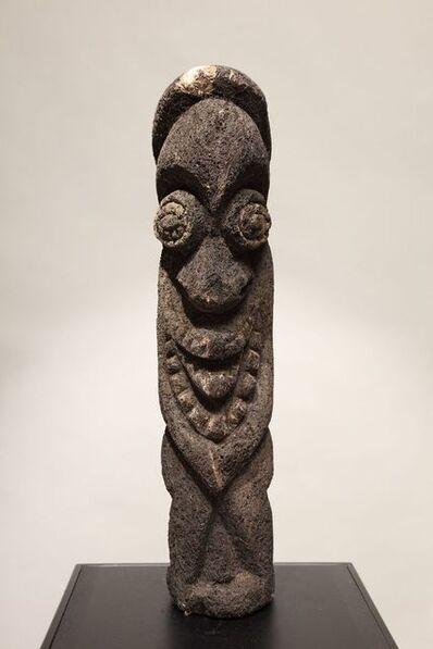 Oceanic Art, 'Vanuatu Fern Tree Initiation Figure #3', Early 20th Century