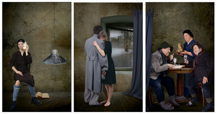Raoef Mamedov, 'Supper at Emmaus. Triptych #1 of polyptych from 9 parts', 2007
