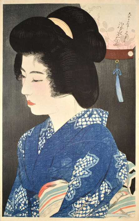Itō Shinsui, 'Listening to the Insects ', 1923