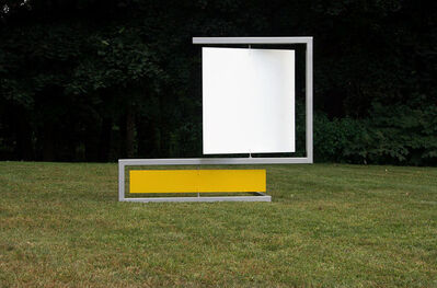 Roger Phillips, 'White Square Yellow Rectangle', 2010