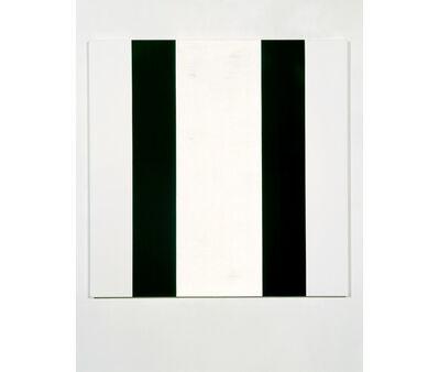 Mary Corse, 'Untitled (Black White Inner Band, Beveled)', 2006