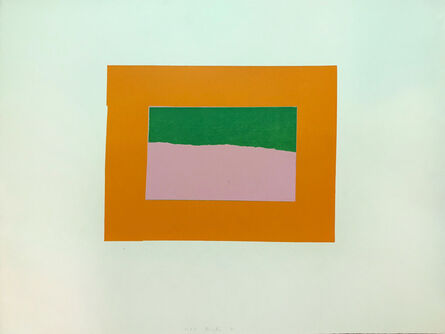 Howard Hodgkin, 'Indian Views – Plate B', 1971