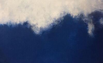 Russell Sharon, 'Blue V ', 2018