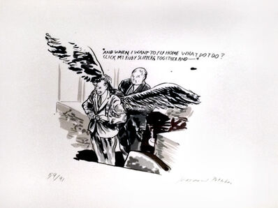 Raymond Pettibon, 'And When I Want to Fly Home What Do I Do?', 2004
