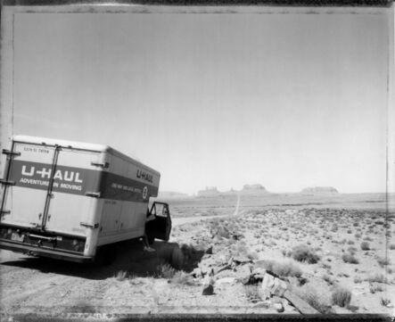 Mark Klett, 'Checking The Road Map'