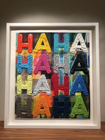 Mel Bochner, 'Ha Ha', 2015