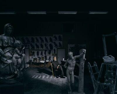 Andreas Mühe, 'Portrait de l'artiste dans son atelier, (Portrait Of The Artist In His Studio)', 2008