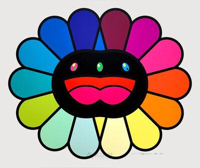 Takashi Murakami, 'Multicolor Double Face Black', 2020