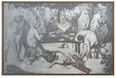 R. H. Quaytman, 'The Drunkards', 2015