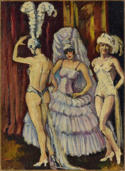 Ludovic-Rodo Pissarro, 'Cabaret Dancers', 20th century