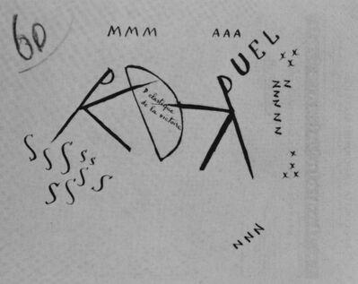 Filippo Tommaso Marinetti, 'Le Duel (The Duel. I)', ca. 1915