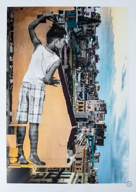 JR, 'Giants - Alain - April 13 Havana Cuba 2019', 2017