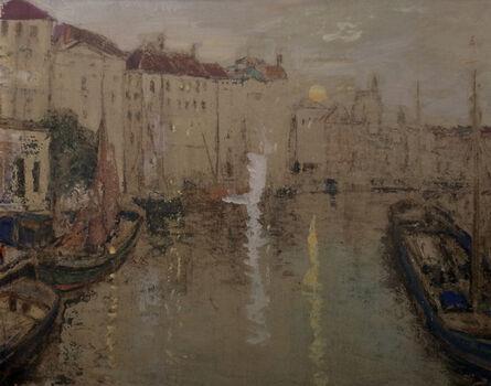 James Kay, 'From the Bridge at Ghent, Belgium'