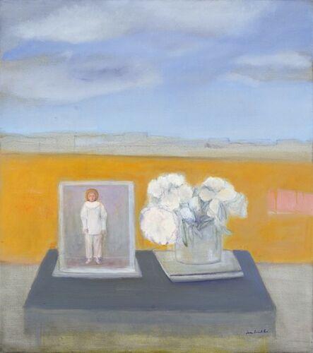 Jane Freilicher, 'Pierrot and Peonies', 2007