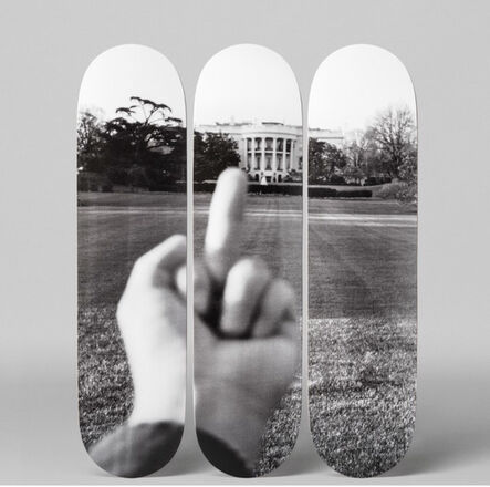 Ai Weiwei, 'Study of Perspective  The White House', 2017