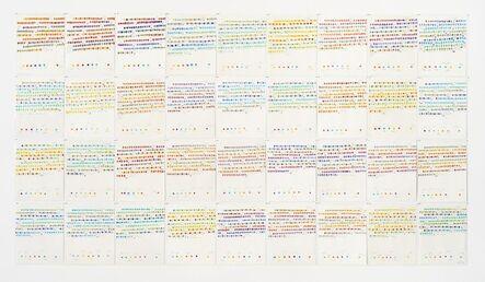 Osvaldo Romberg, 'Homage to Albers Maquette', 1980