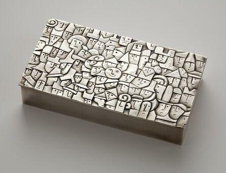 Line Vautrin, 'La Foule, Rare Box', ca. 1942