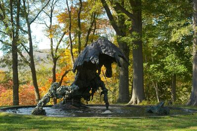 Lynda Benglis, 'Crescendo; Double Fountain, Mother and Child, For Anand', 1983, 84/2014, 15; 2007