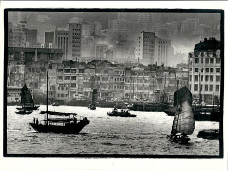 Ed van der Elsken, 'Hong Kong Habour', 1960