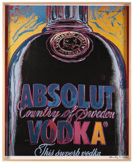 Andy Warhol, 'Absolut Vodka', ca. 1984