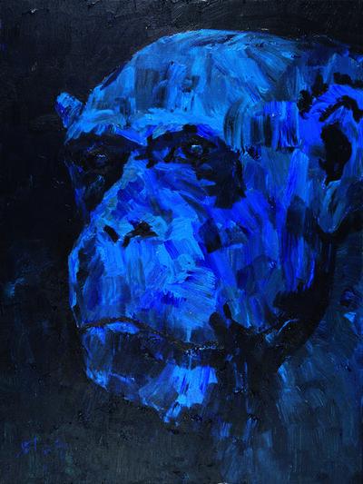 Liu Ruowang, 'Head of a Gorilla', 2017