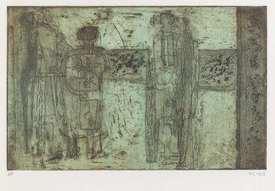 ROBERT CLATWORTHY, R.A., 'Three Figures', 1952