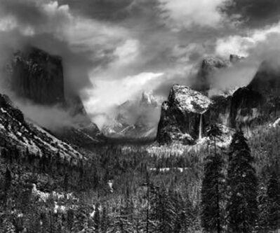 Ansel Adams, 'Clearing Winter Storm, Yosemite National Park, CA 1944', 1944, printed 1968, 1970