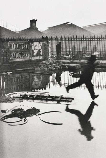 Henri Cartier-Bresson, 'Behind the Gare Saint-Lazare, Paris', 1932