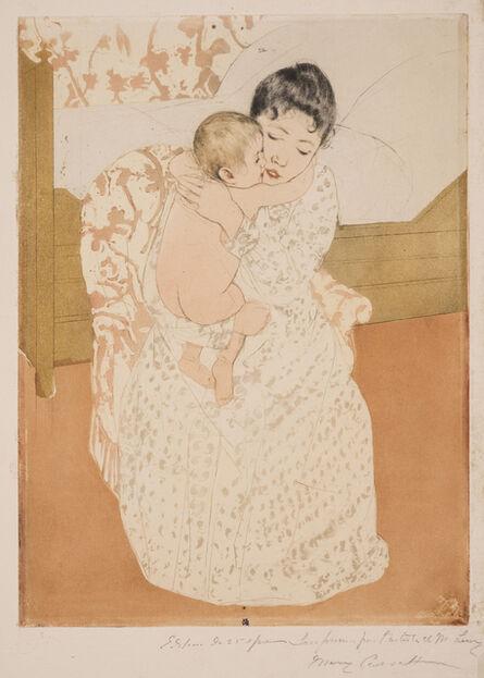 Mary Cassatt, 'Maternal Caress', 1890-1891