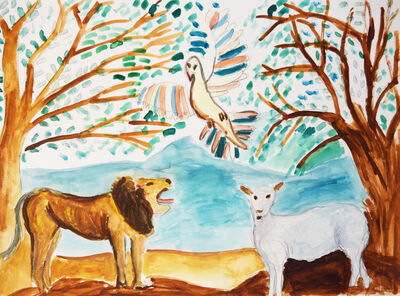 Christopher Polgar, 'The Lion, the Lamb, and the Landscape', 2017