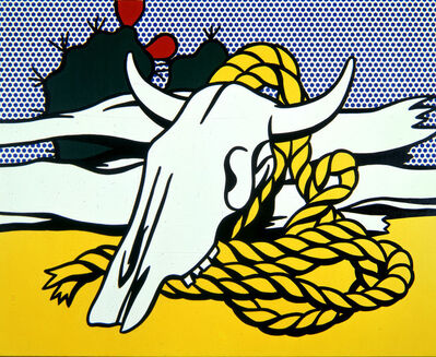 Roy Lichtenstein, 'Still Life with Cow's Skull', 1972