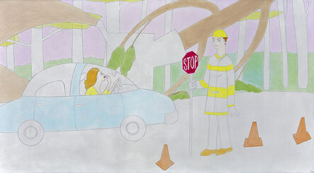 Elizabeth Fox, 'Tree Work Ahead'