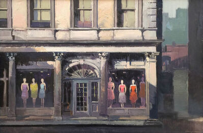 Francis Livingston, 'Figures with Red Dress', 2011