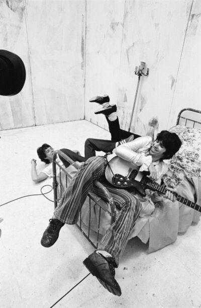 Michael Putland, 'Mick, Keith and Ronnie's Feet, Video Shoot, New York', 1978