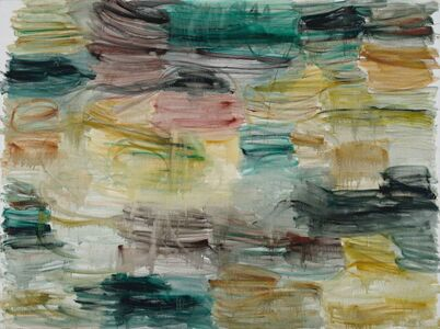 Zhang Enli 张恩利, 'Red-Green Brushwork', 2016