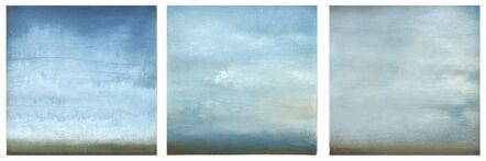 Carole Pierce, 'Summer Clouds-Triptych', 2014
