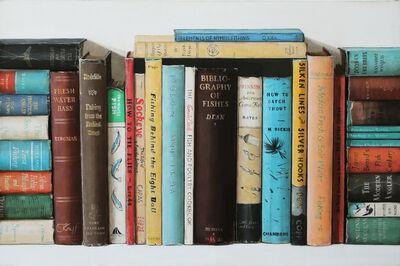 Holly Farrell, 'Fishing Books', 2018