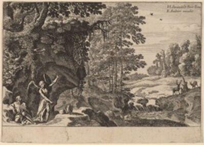 Herman van Swanevelt, 'Elijah in the Wilderness'