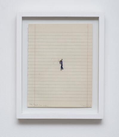 Liliana Porter, 'The Task (Man in Blue)', 2017