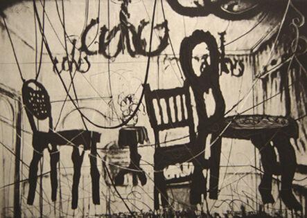 William Kentridge, 'Chairs from Zeno II', 2003
