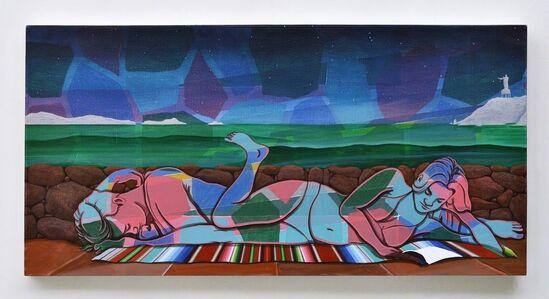 Adam de Boer, 'Night Swimming no.4', 2015