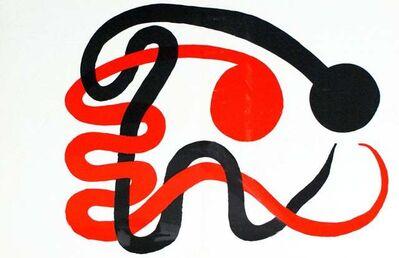 Alexander Calder, 'Snakes', 1973