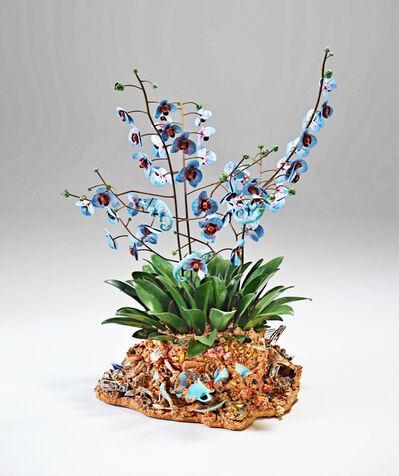 Bertozzi & Casoni, 'Disgrazia con Orchidee blu (Disgrace with Blue Orchids)', 2012