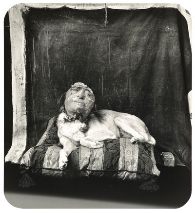 Joel-Peter Witkin, 'Dog on a Pillow, Marseilles', 1994