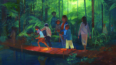Andrew Hem, 'The Journey Begins', 2015