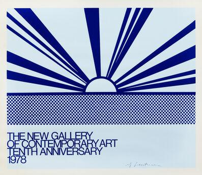 Roy Lichtenstein, 'The New Gallery of Contemporary Art', 1978