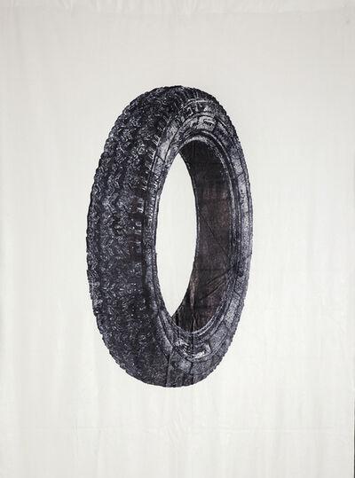 Keren Cytter, 'Black Wheel (Detail)', 2014