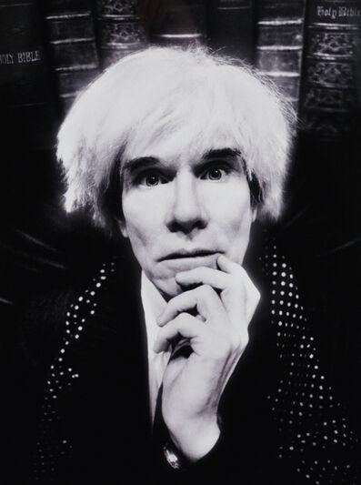 David LaChapelle, 'Andy Warhol: Last Sitting', 1986