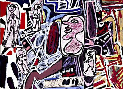 Jean Dubuffet, 'Faits Memorables II', 1978